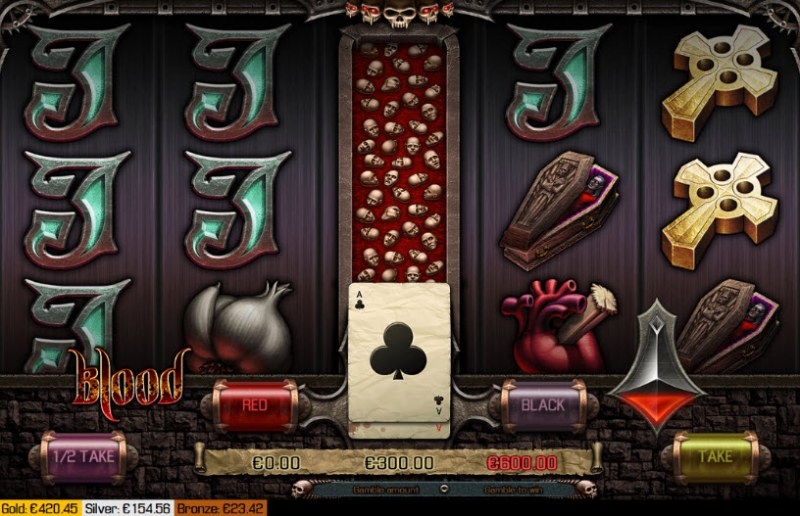 Blood :: Red or Black Gamble Feature