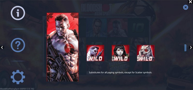 Bloodshot Rising Spirit :: Wild Symbol Rules