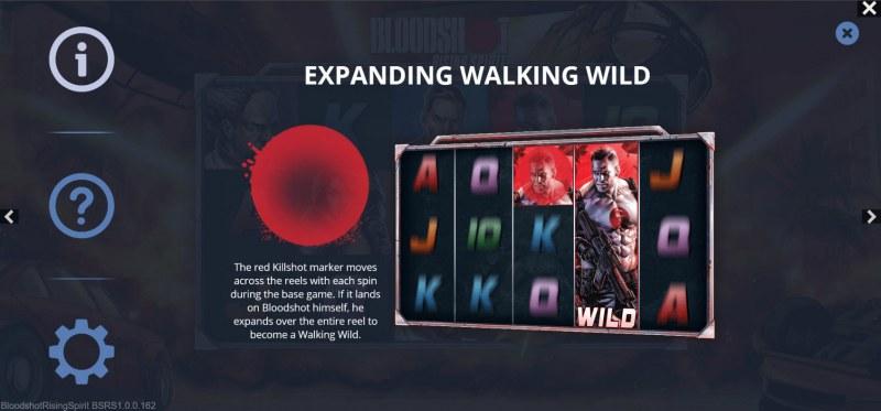 Bloodshot Rising Spirit :: Expanding Walking Wild