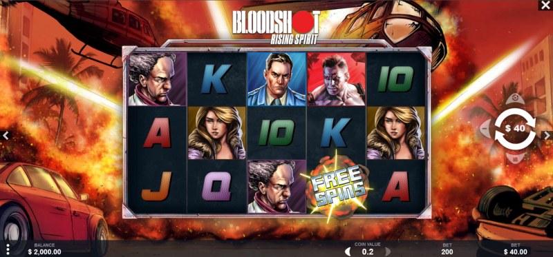 Bloodshot Rising Spirit :: Main Game Board