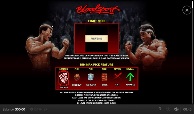 Bloodsport :: Feature Rules