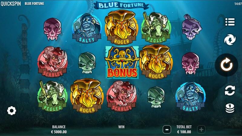 Blue Fortune :: Main Game Board