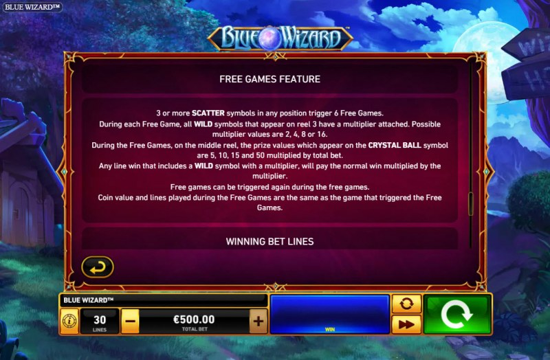 Blue Wizard :: Free Game Rules