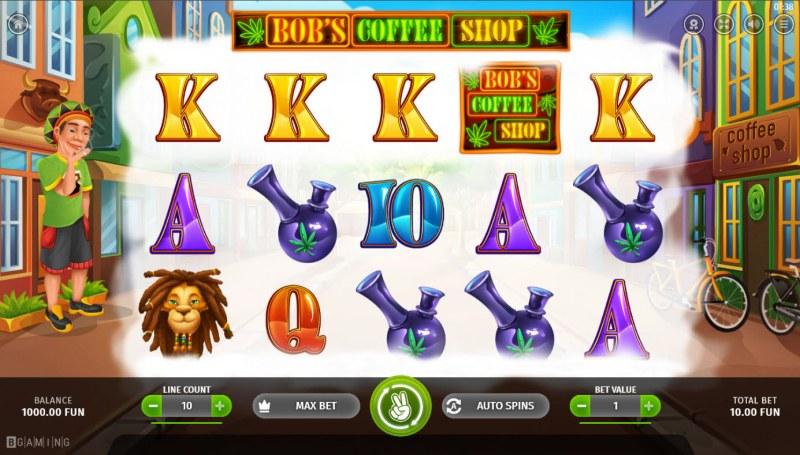 Bob's Coffee Shop :: Base Game Screen
