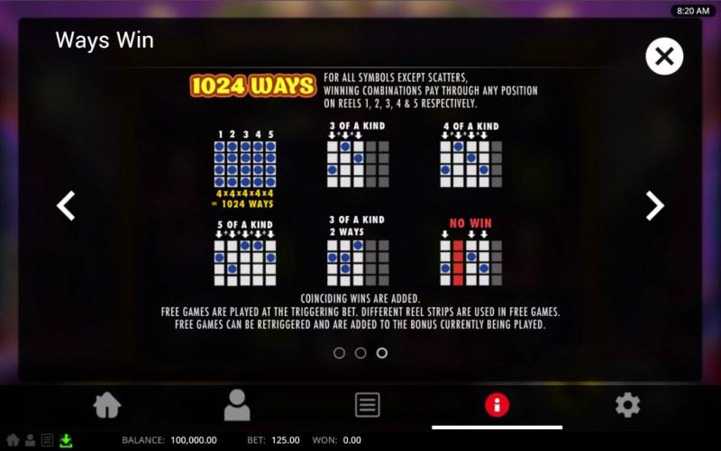 Bollywood Billions :: 1024 Ways to Win