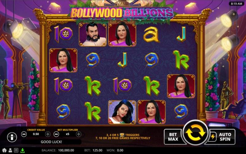 Bollywood Billions :: Main Game Board