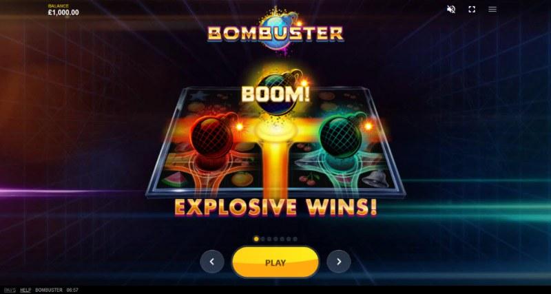 Bombuster :: Explosive Wins