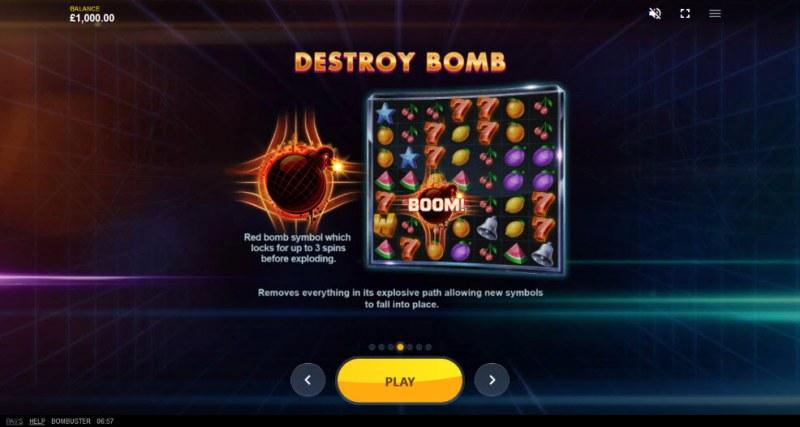 Bombuster :: Destroy Bomb