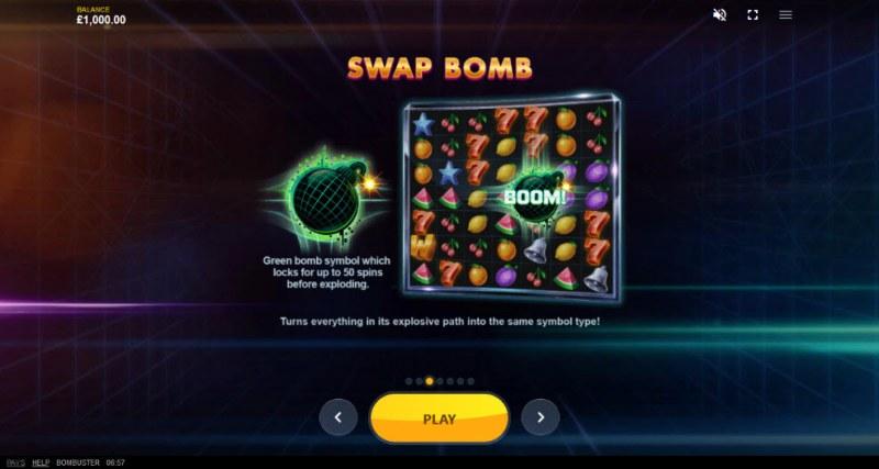 Bombuster :: Swap Bomb