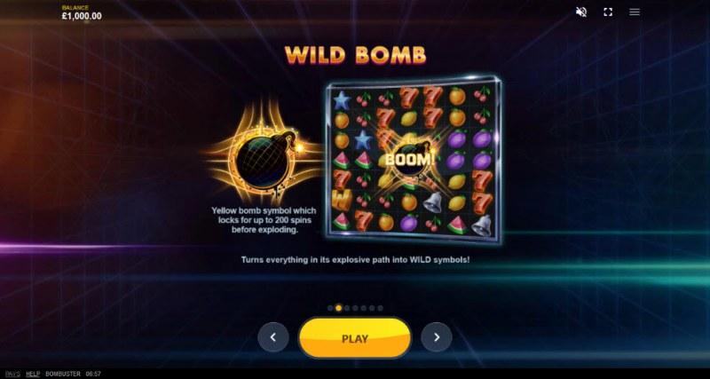 Bombuster :: Wild Bomb
