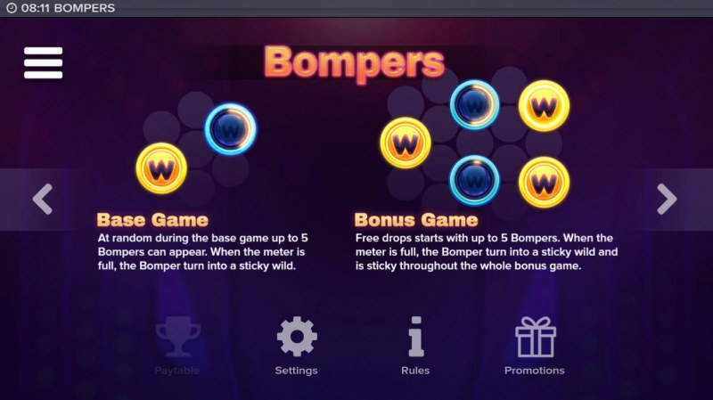 Bompers :: Feature Rules
