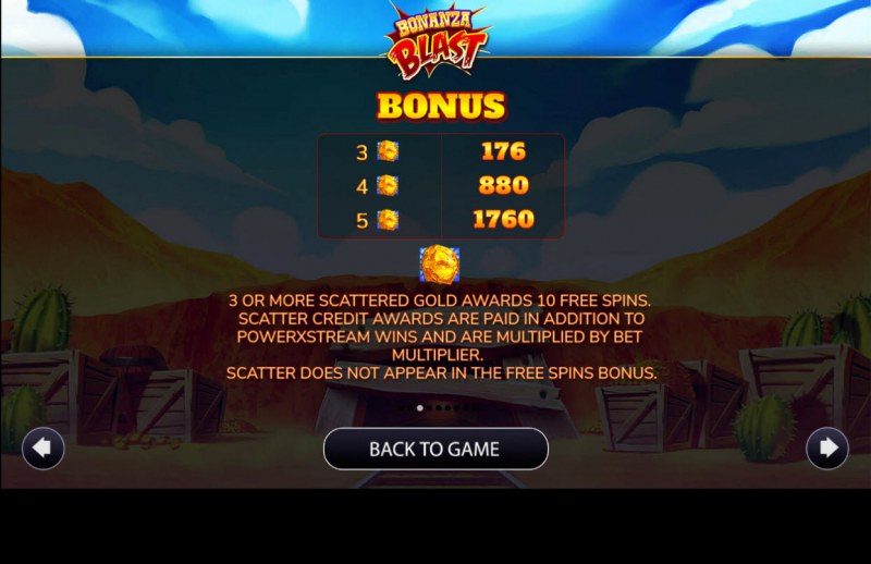 Bonanza Blast :: Scatter Symbol Rules