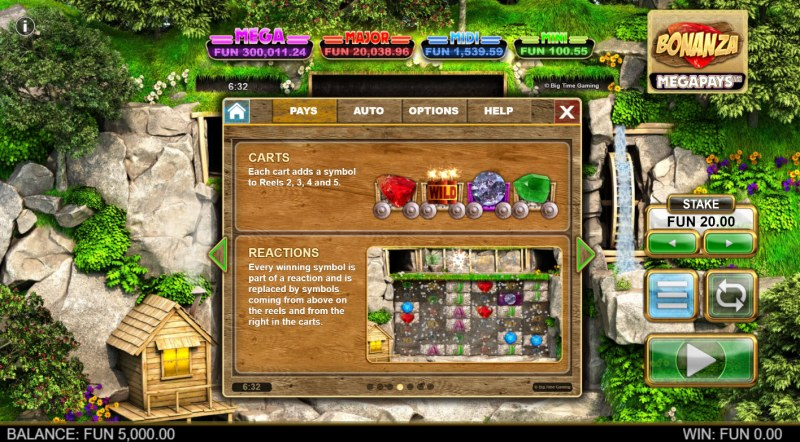 Bonanza Megapays :: Feature Rules