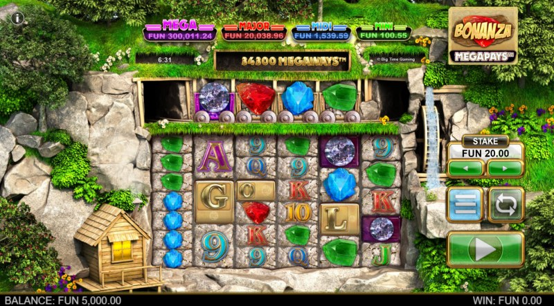Bonanza Megapays :: Main Game Board