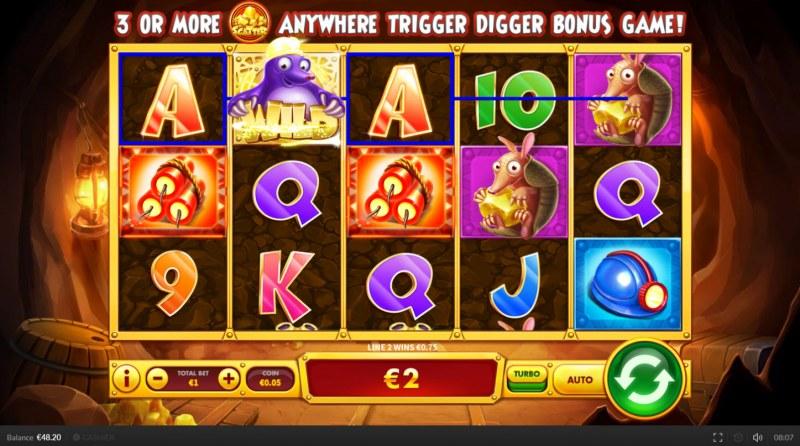 Bonus Digger :: Three of a kind
