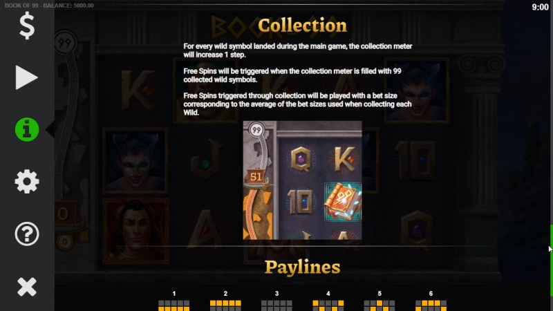 Book of 99 :: Feature Rules