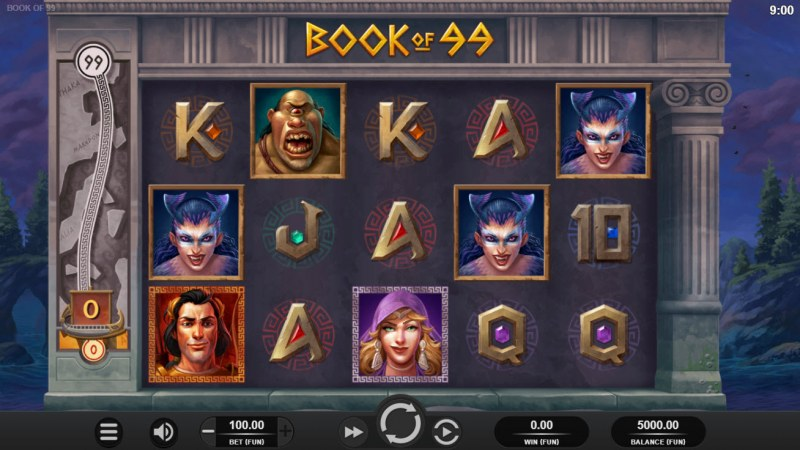 Book of 99 :: Main Game Board
