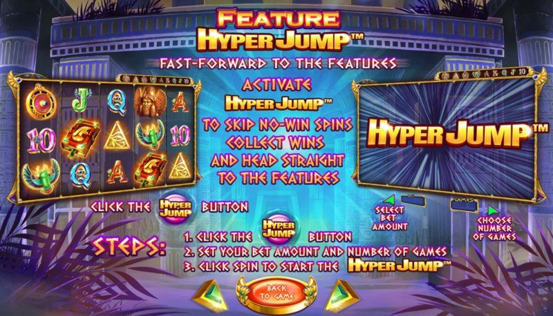Book of Anunnaki :: Hyper Jump Feature