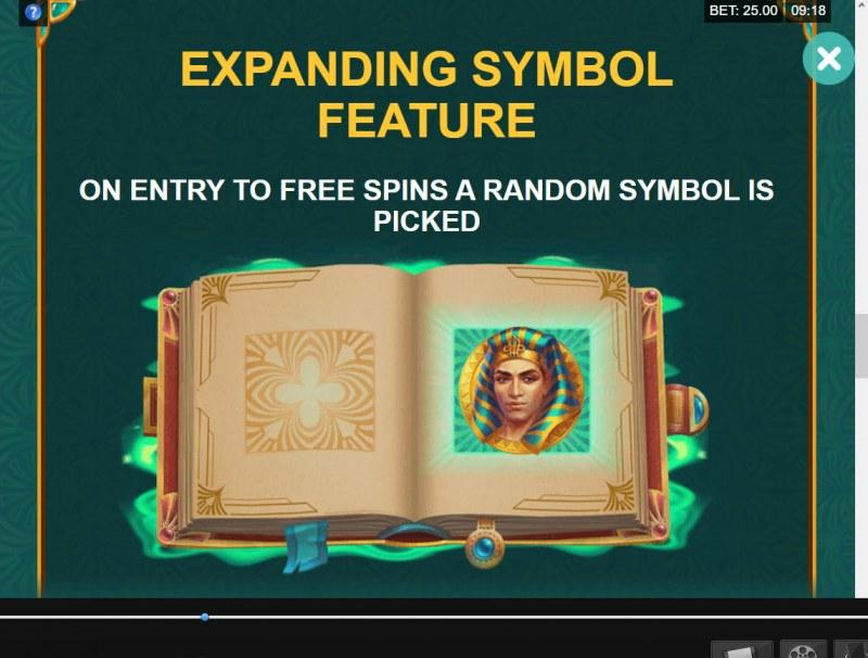 Book of Atem Wow Pot :: Special Expanding Symbol