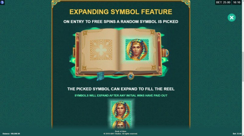 Book of Atem :: Expanding Symbol Feature