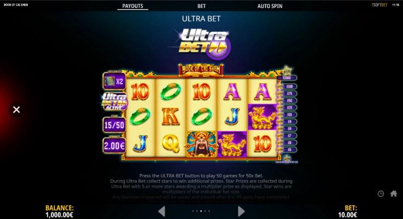 Book of Cai Shen :: Ultra Bet