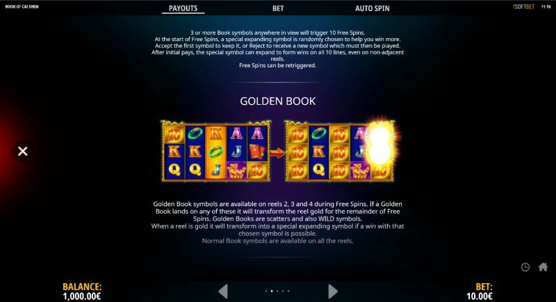 Book of Cai Shen :: Feature Rules