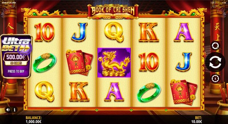 Book of Cai Shen :: Main Game Board