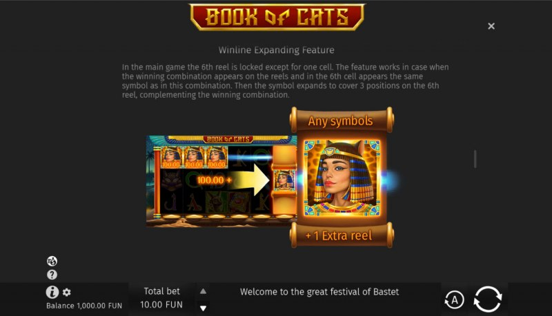 Book of Cats :: Winline Expanding Feature