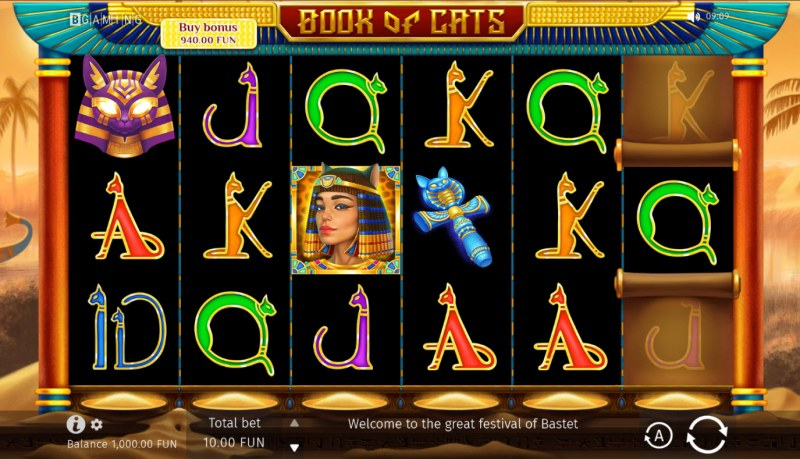 Book of Cats :: Base Game Screen