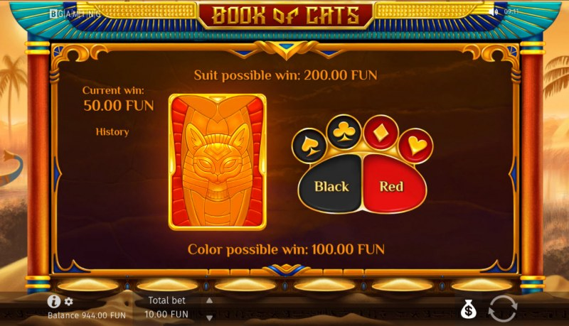 Book of Cats :: Gamble feature