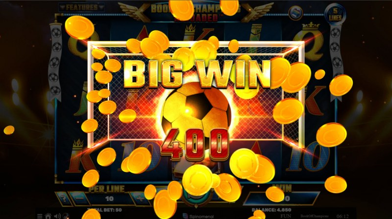 Book of Champions Reloaded :: Big Win