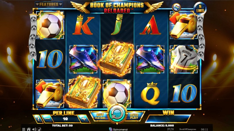 Book of Champions Reloaded :: Base Game Screen