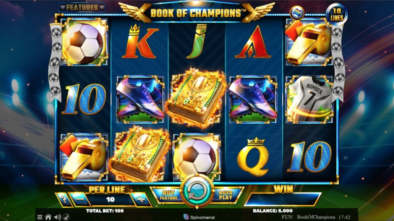 Book of Champions :: Main Screen