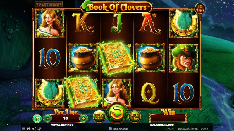 Book of Clovers :: Base Game Screen