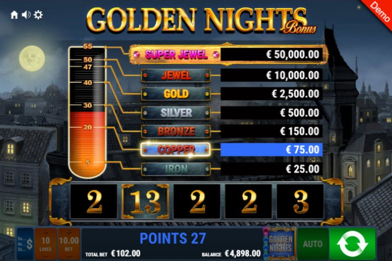 Book of Crazy Chicken Golden Nights Bonus :: Collect points and win big