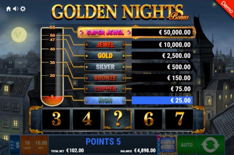 Book of Crazy Chicken Golden Nights Bonus :: Golden Nights Bonus Feature