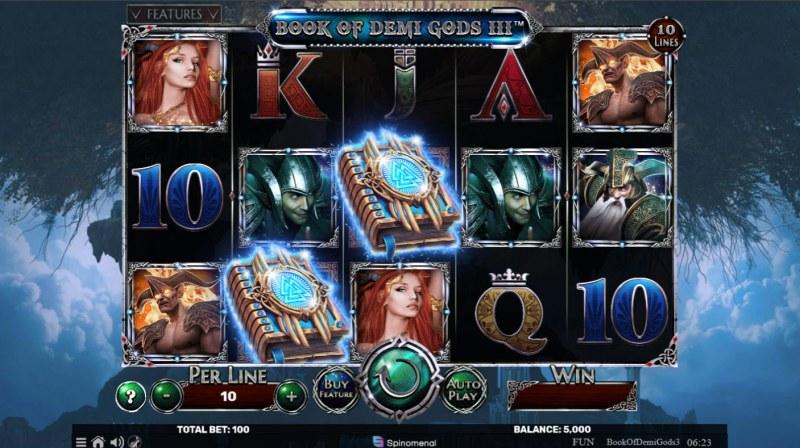 Book of Demi Gods 3 :: Main Game Board