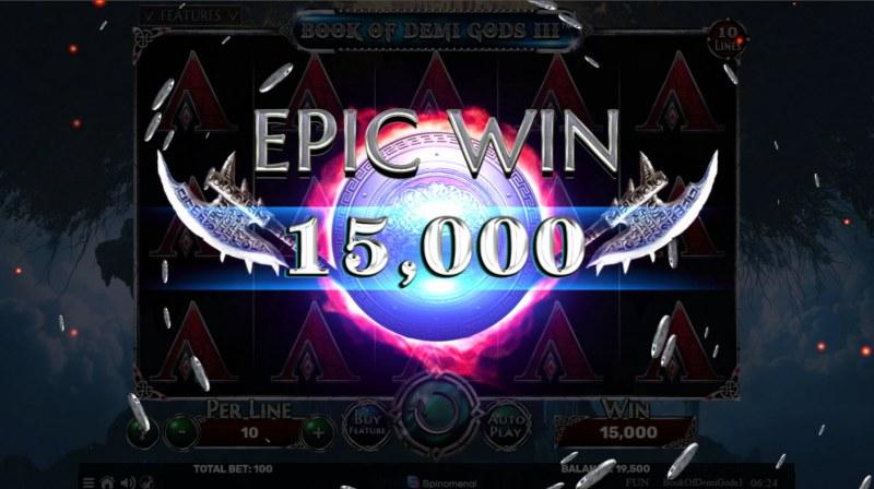 Book of Demi Gods 3 :: Epic Win