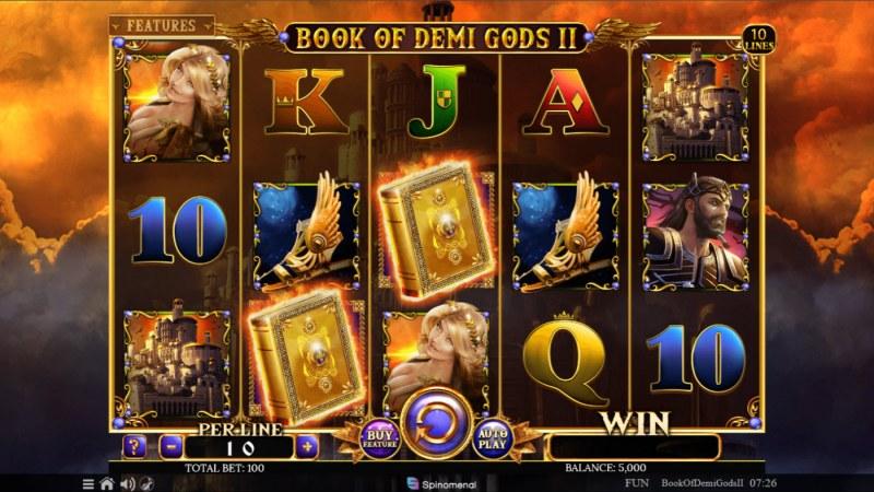 Book of Demi Gods II :: Base Game Screen