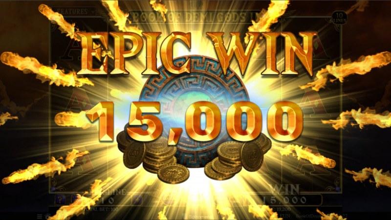 Book of Demi Gods II :: Epic Win