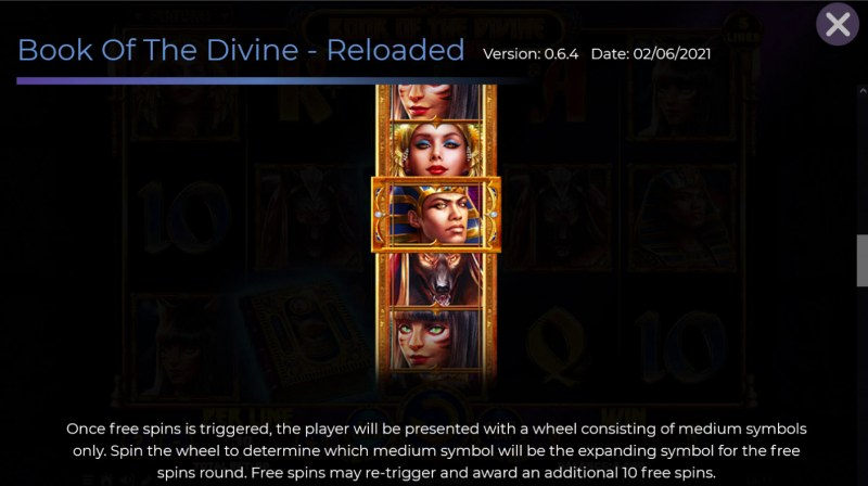 Book of the Divine Reloaded :: Special Expanding Symbol