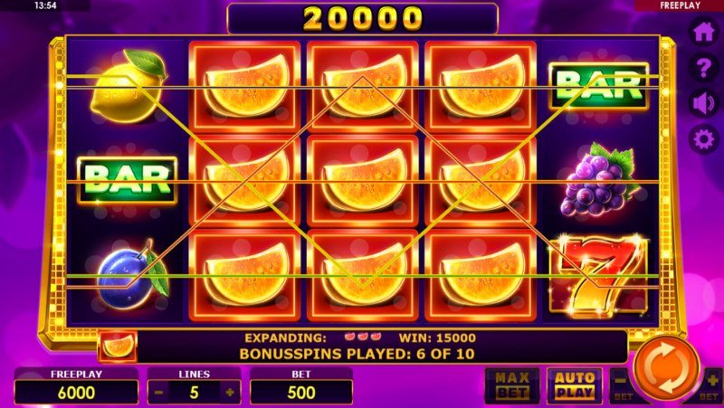 Book of Fruits :: Multiple winning paylines