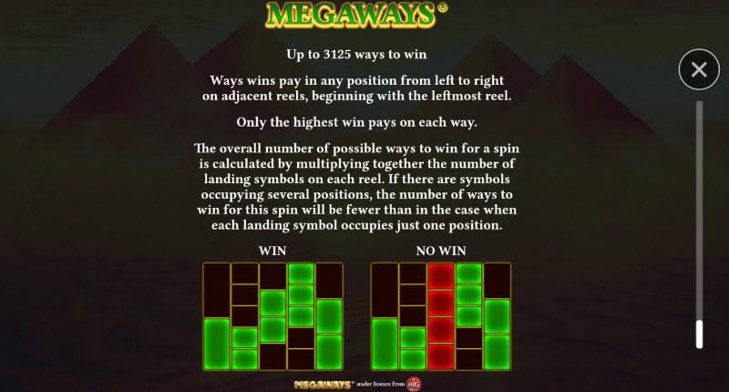 Book of Gems Megaways :: 3125 Ways to Win