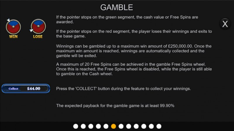 Book of Independence :: Gamble feature