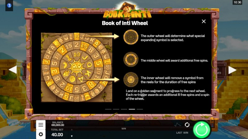 Book of Inti :: Wheel Feature