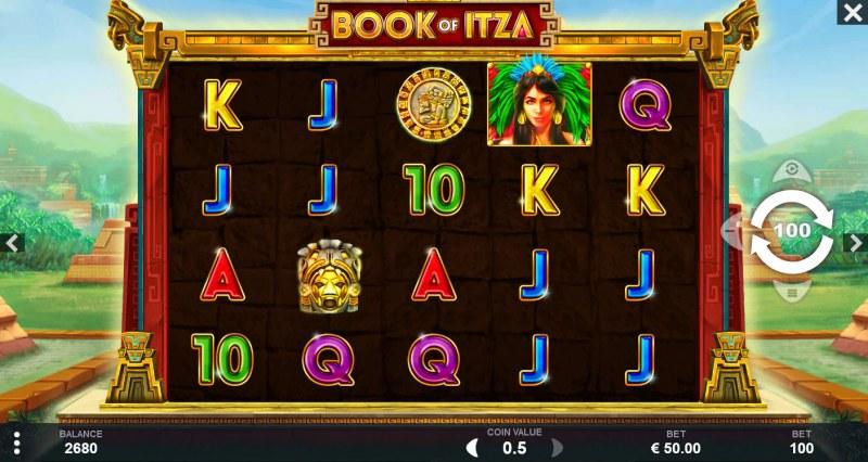 Book of Itza :: Main Game Board
