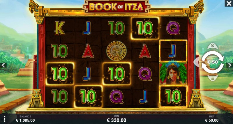 Book of Itza :: A five of a kind win