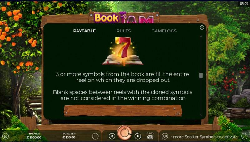 Book of Jam :: Special Expanding Symbol