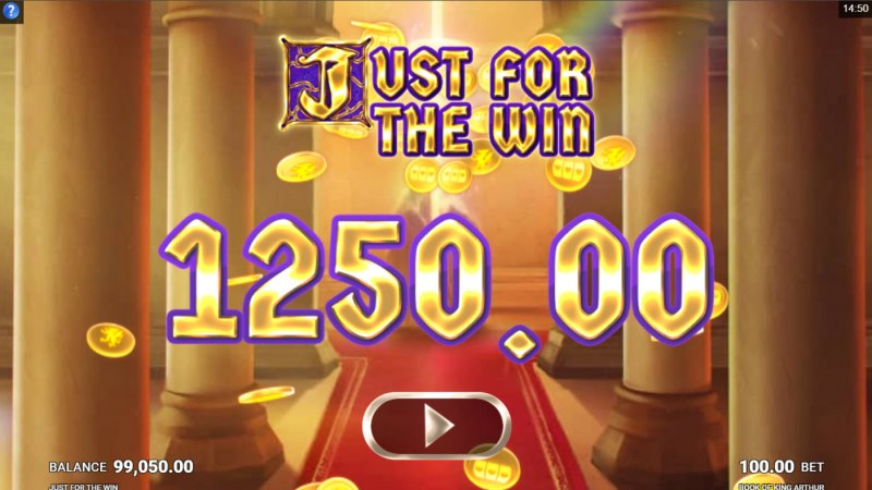 Book of King Arthur :: Total Free Spins Payout