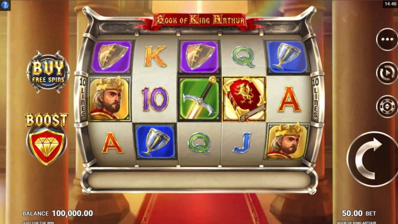 Book of King Arthur :: Main Game Board